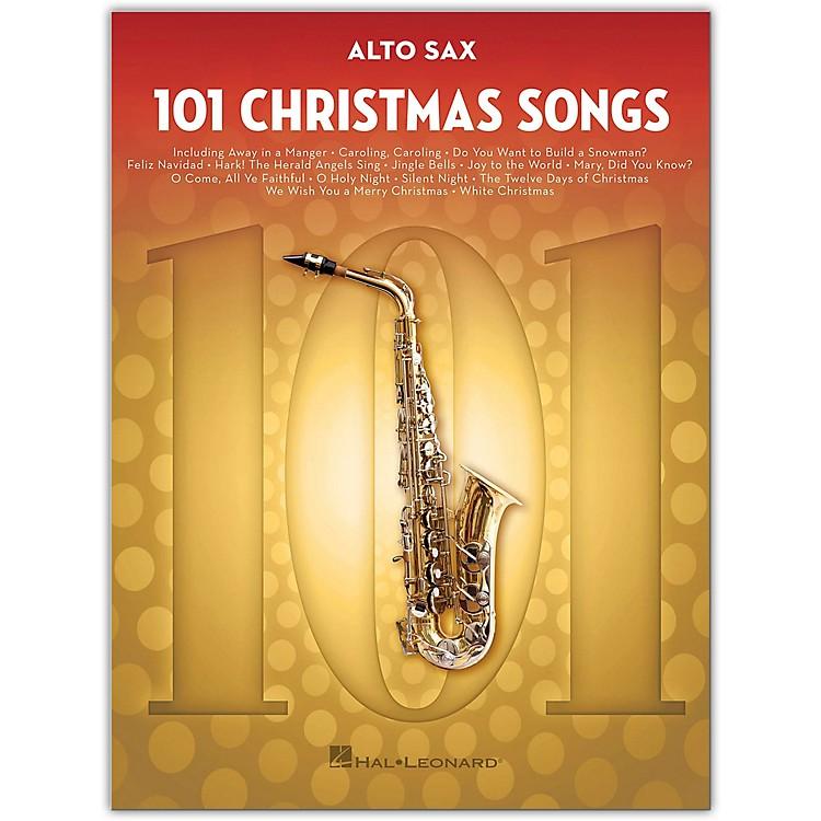 Hal Leonard101 Christmas Songs for Alto Sax
