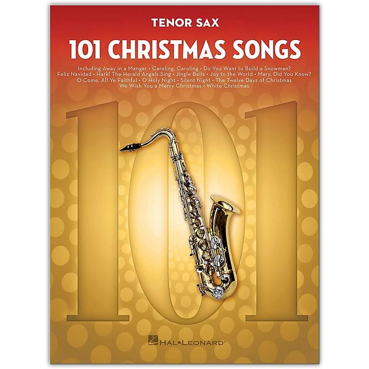 Hal Leonard101 Christmas Songs for Tenor Sax