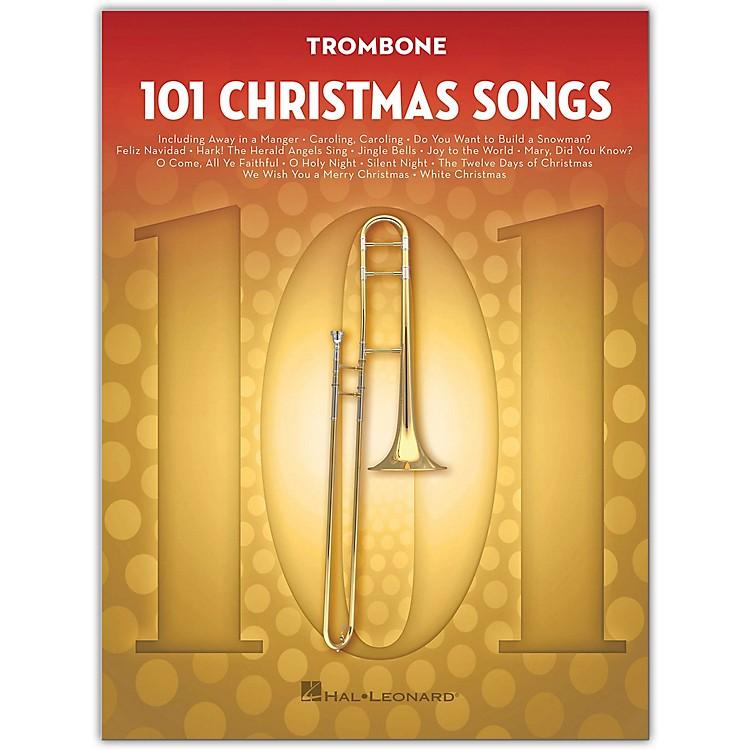 Hal Leonard101 Christmas Songs for Trombone
