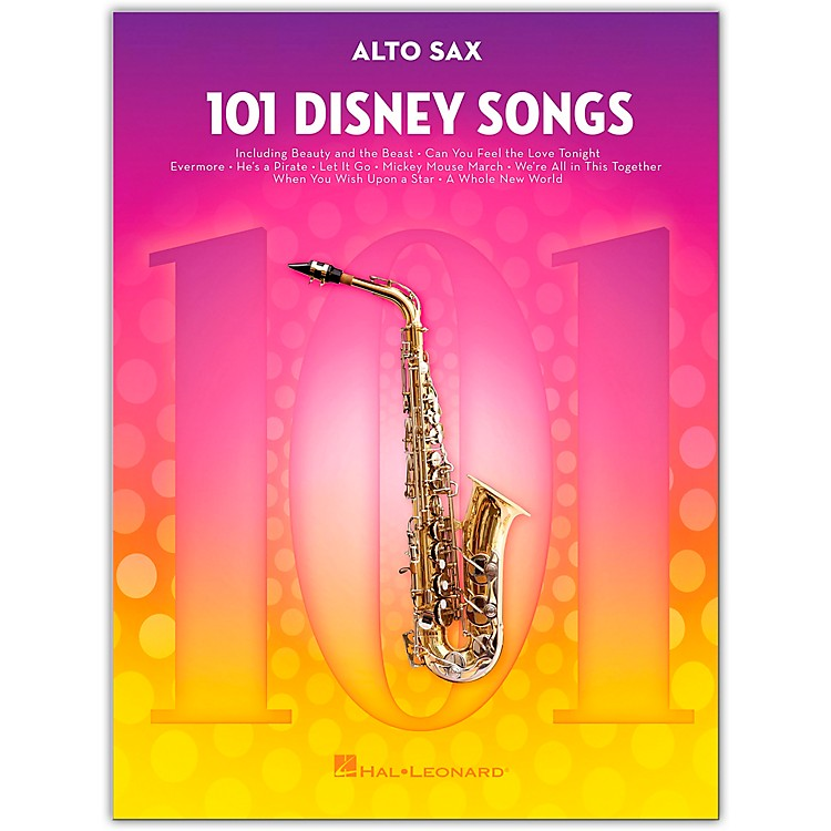 Hal Leonard101 Disney Songs  for Alto Sax