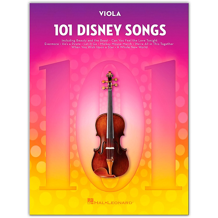 Hal Leonard 101 Disney Songs  for Viola