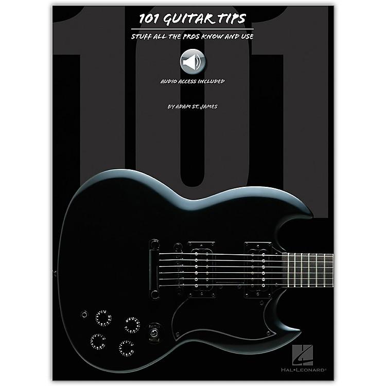 Hal Leonard101 Guitar Tips (Book/Online Audio)