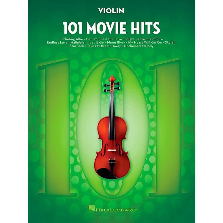 Hal Leonard101 Movie Hits - Violin