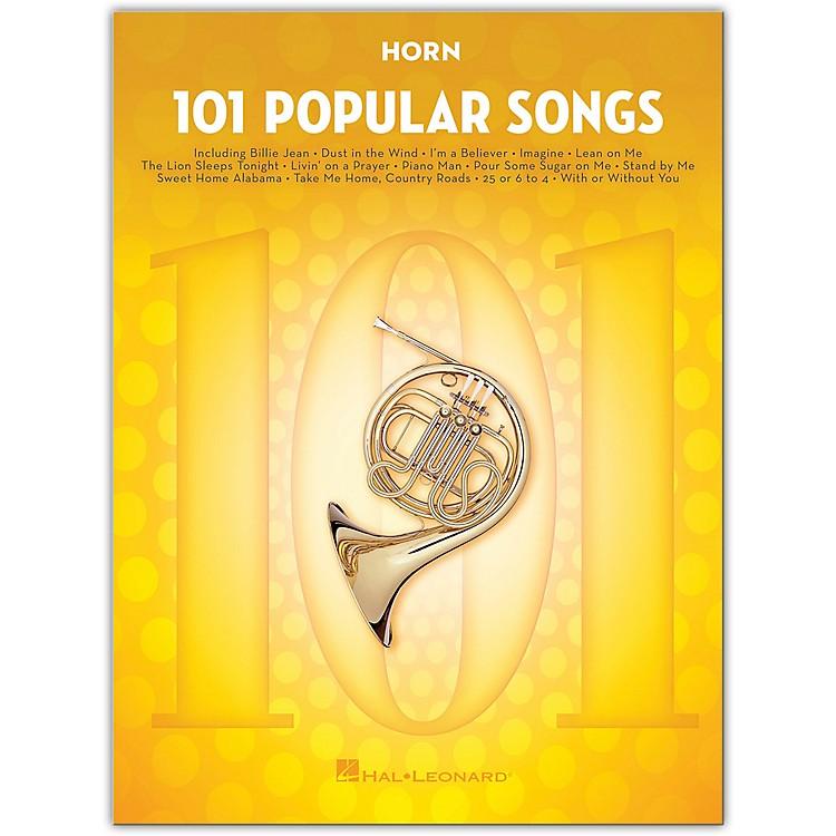 Hal Leonard101 Popular Songs for Horn