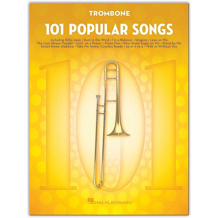 Hal Leonard101 Popular Songs for Trombone