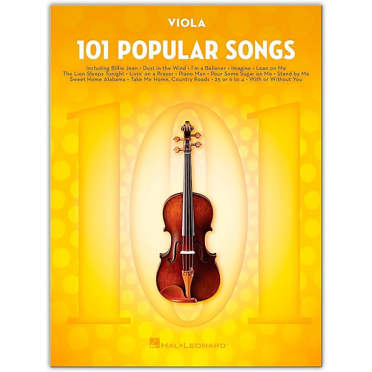 Hal Leonard101 Popular Songs for Viola