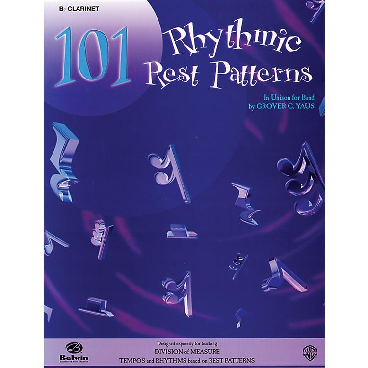 Alfred101 Rhythmic Rest Patterns B-Flat Clarinet