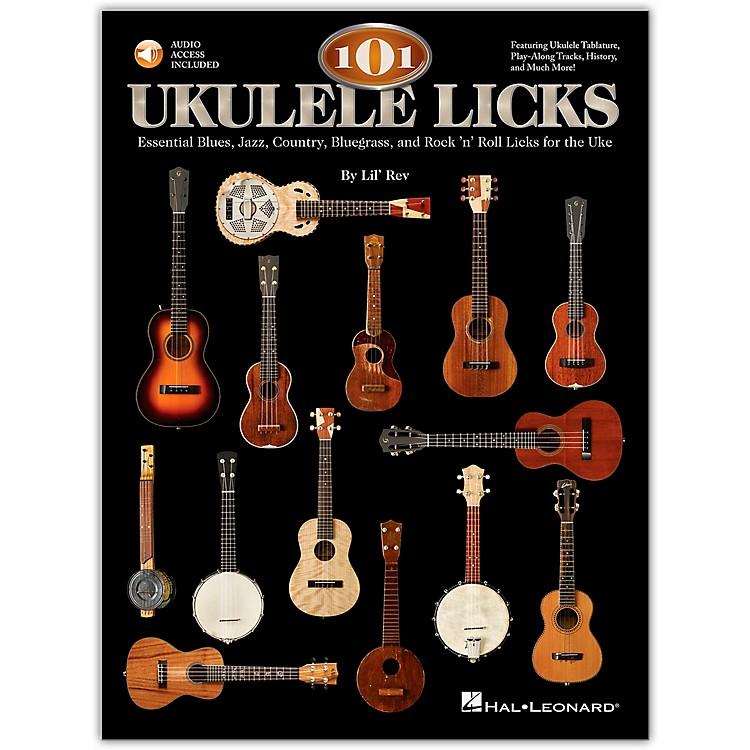 Hal Leonard101 Ukulele Licks (Book/CD)