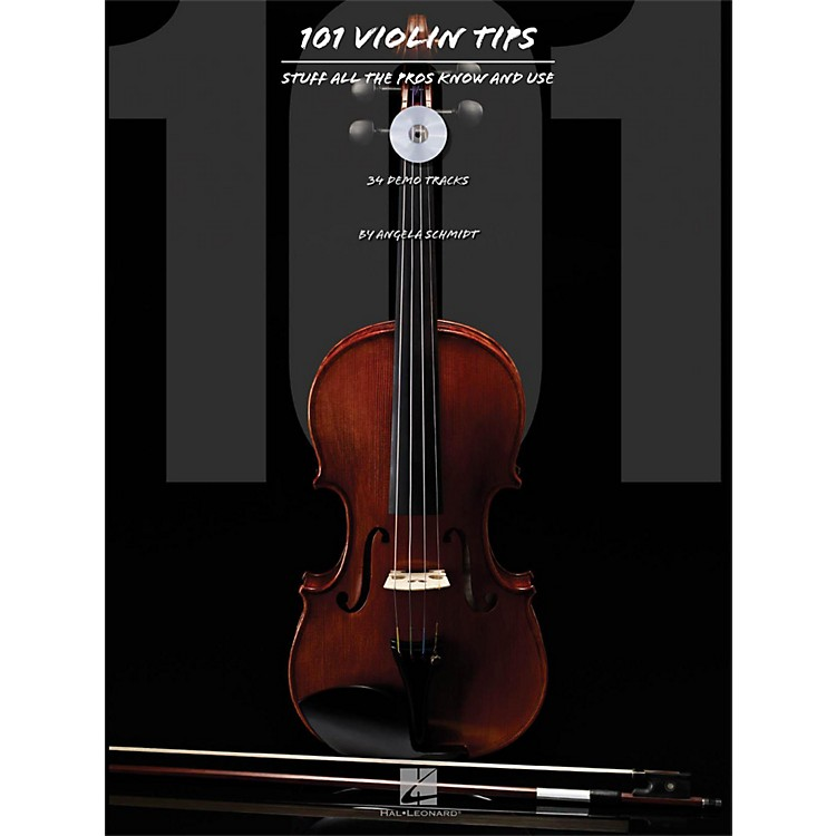 Hal Leonard101 Violin Tips - Stuff All The Pros Know And Use Book/CD