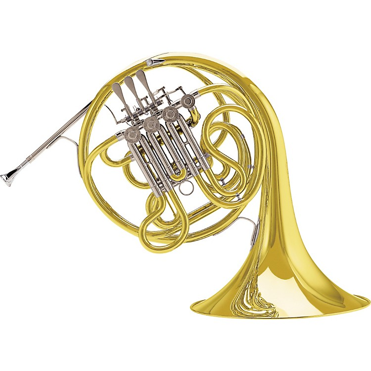 Conn 10D Symphony Series Fixed Bell Double Horn Lacquer Fixed Yellow Brass Bell