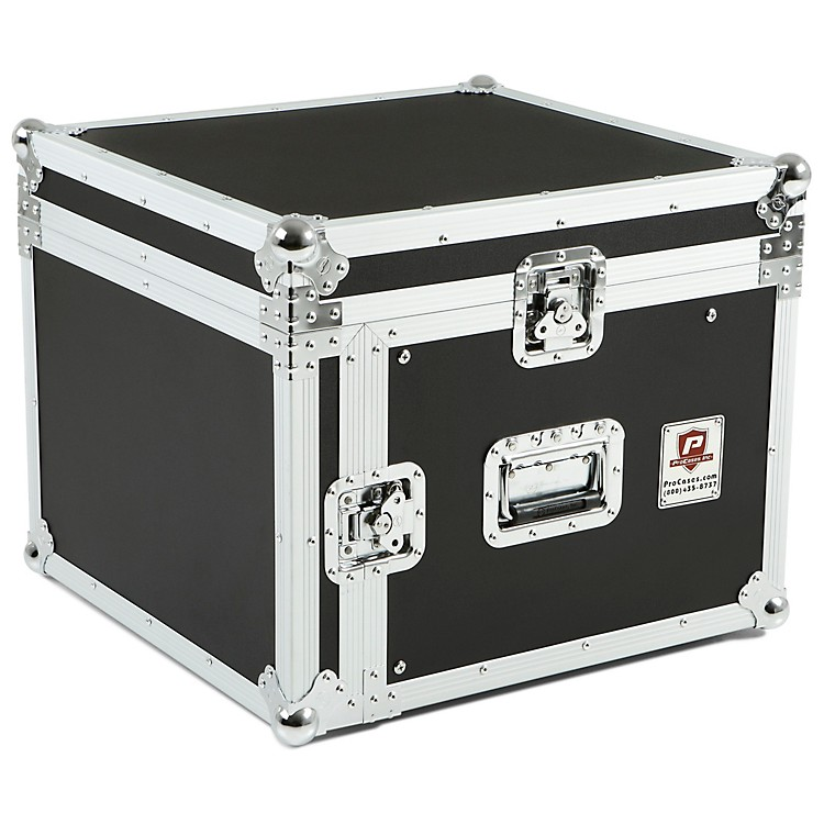Eurolite10x6 Mixer/Amp Combo Rack Case10 X 6 U