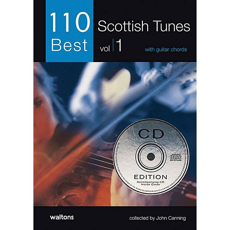 Waltons 110 Best Scottish Tunes (with Guitar Chords) Waltons Irish Music Books Series Softcover with CD