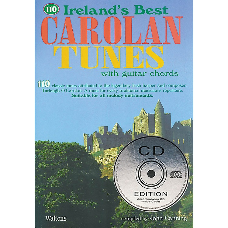 Waltons110 Ireland's Best Carolan Tunes (with Guitar Chords) Waltons Irish Music Books Series Softcover with CD
