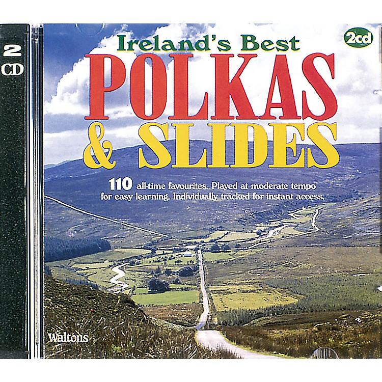 Waltons110 Ireland's Best Polkas & Slides (with Guitar Chords) Waltons Irish Music Books Series CD