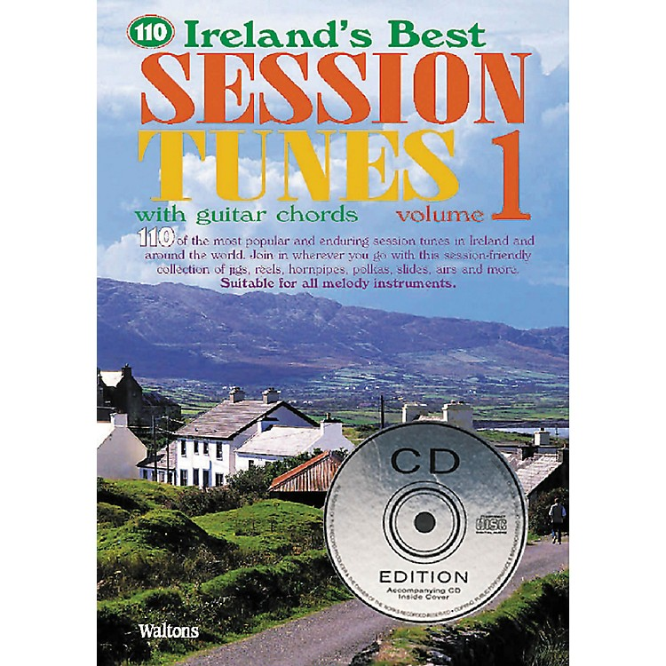 Waltons110 Ireland's Best Session Tunes - Volume 1 Waltons Irish Music Books Series Softcover with CD