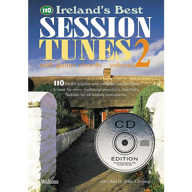 Waltons110 Ireland's Best Session Tunes - Volume 2 (with Guitar Chords) Waltons Irish Music Books Series