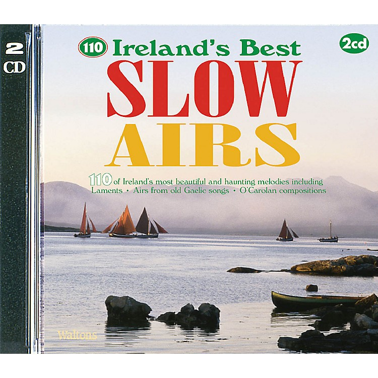 Waltons110 Ireland's Best Slow Airs Waltons Irish Music Books Series CD