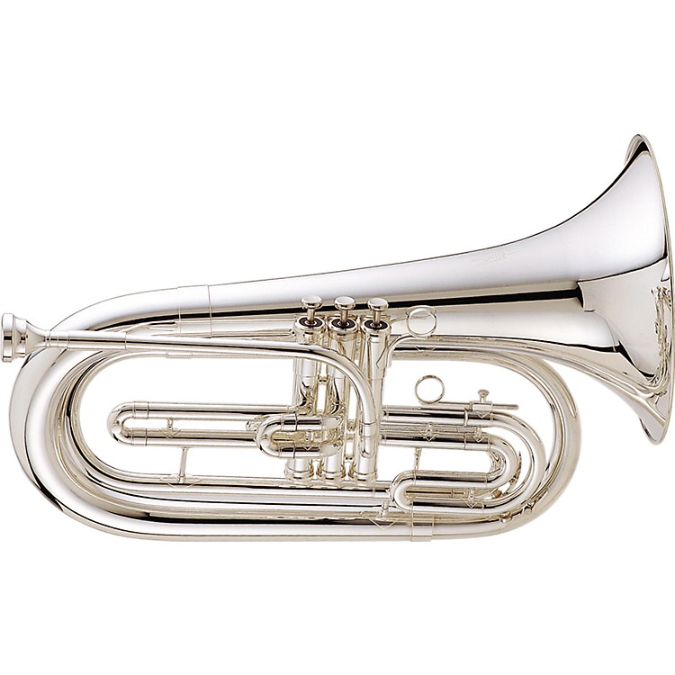 King 1127 Ultimate Series Marching Bb Baritone 1127SP Silver