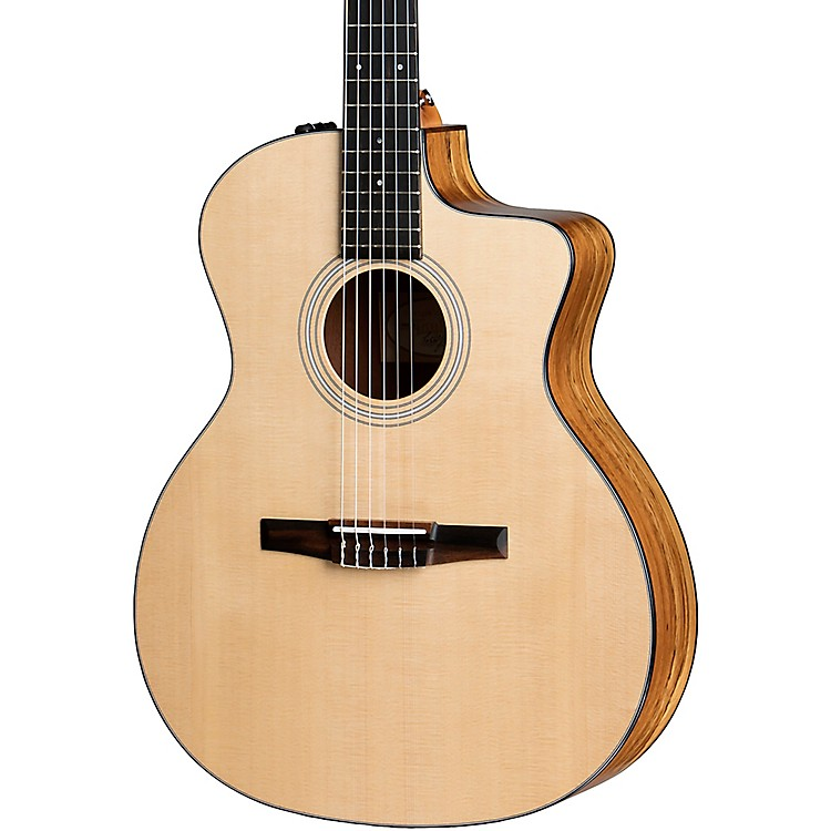 Taylor114ce-N Limited Edition Grand Auditorium Nylon String Acoustic-Electric GuitarNatural