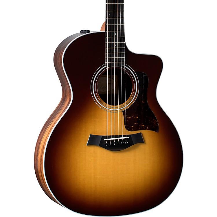 Taylor114ce Rosewood Grand Auditorium Acoustic-Electric GuitarTobacco Sunburst