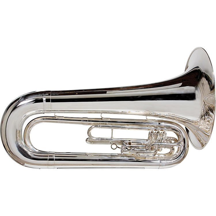 King1151 Ultimate Series Marching BBb Tuba1151SP Silver
