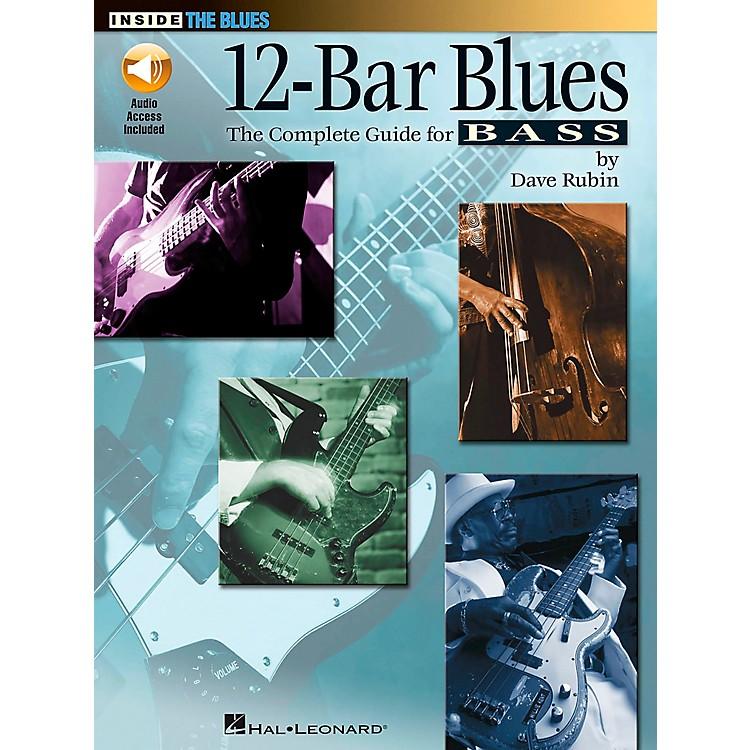 Hal Leonard12-Bar Blues Bass Book/CD