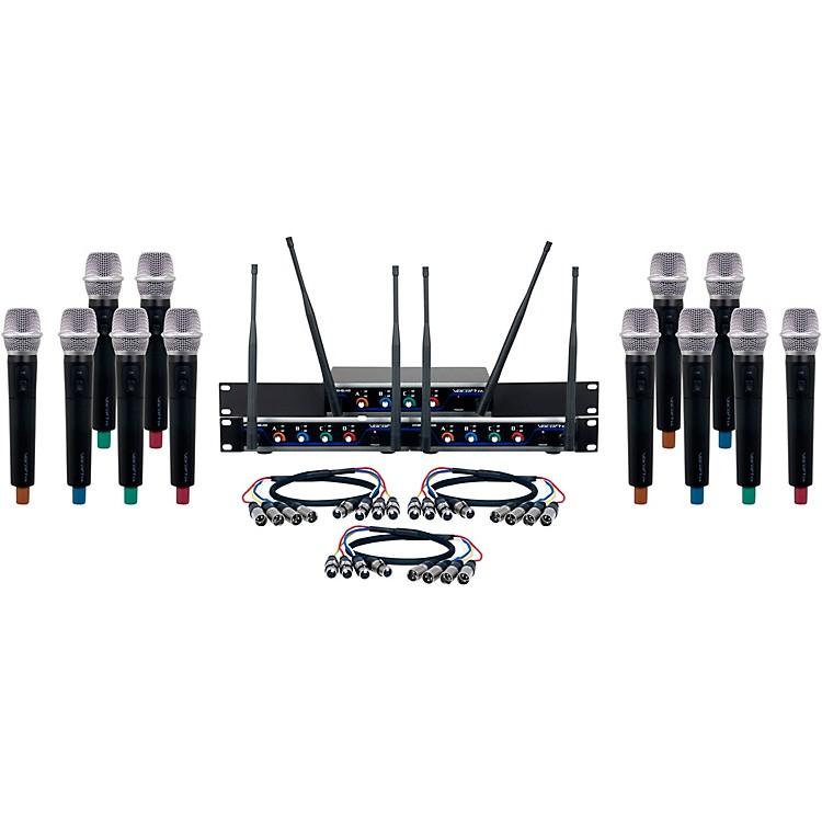 VocoPro12 CH. UHF Wireless Handheld Microphone system902-928 MHzBlack