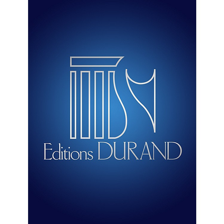Editions Durand12 Chants Voix Elevees/piano (fr/angl) Editions Durand Series