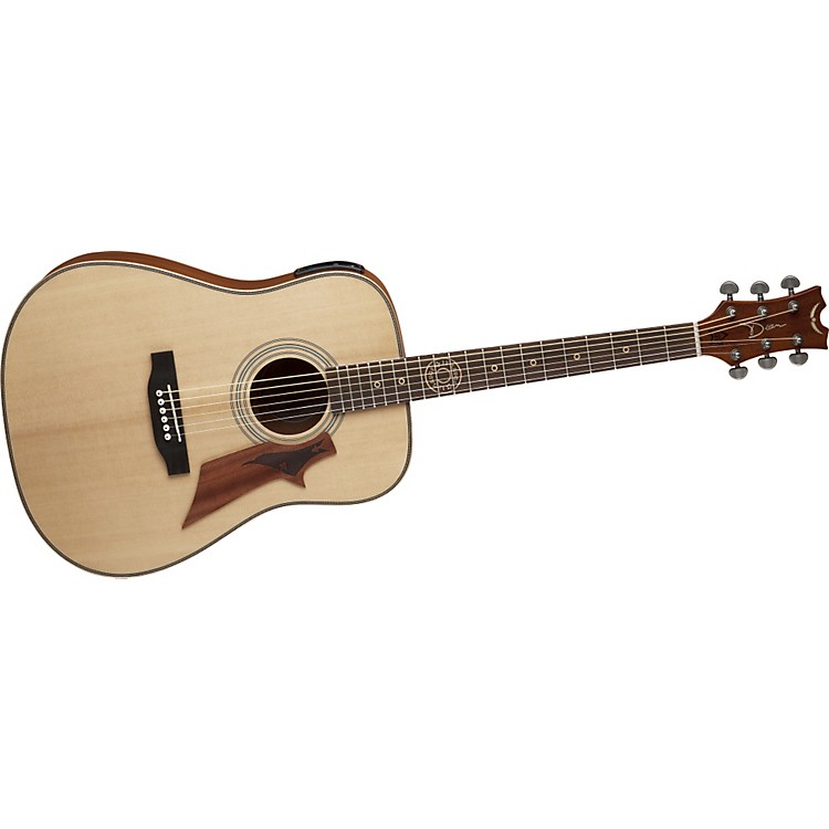 Dean12 Gauge Solid Top Acoustic-Electric Guitar w/Aphex