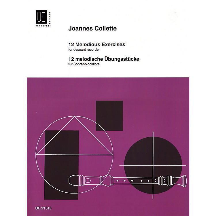 Theodore Presser12 Melodic Studies (Book)