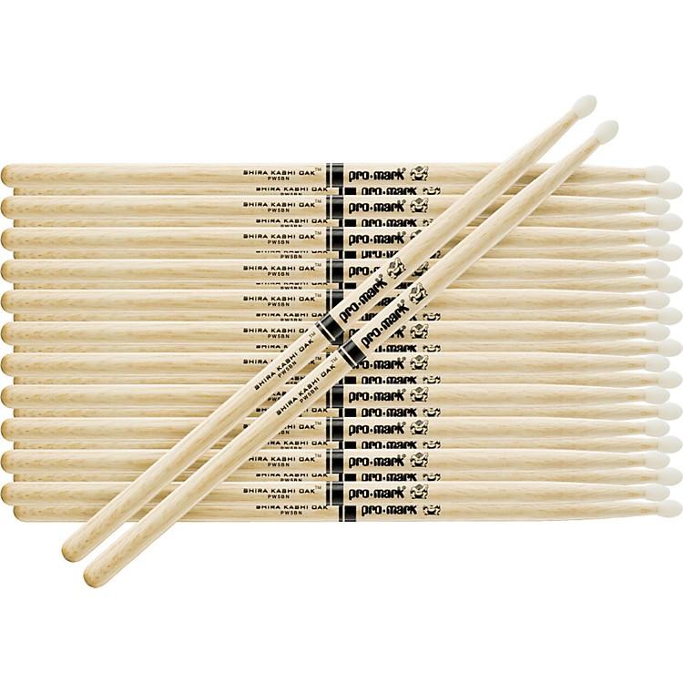 PROMARK12-Pair Japanese White Oak DrumsticksNylon5B
