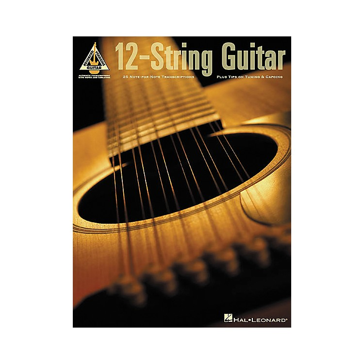 Hal Leonard12-String Guitar Guitar Tab Book
