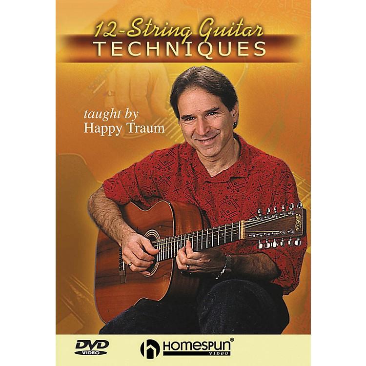 Homespun12-String Guitar Techniques (DVD)