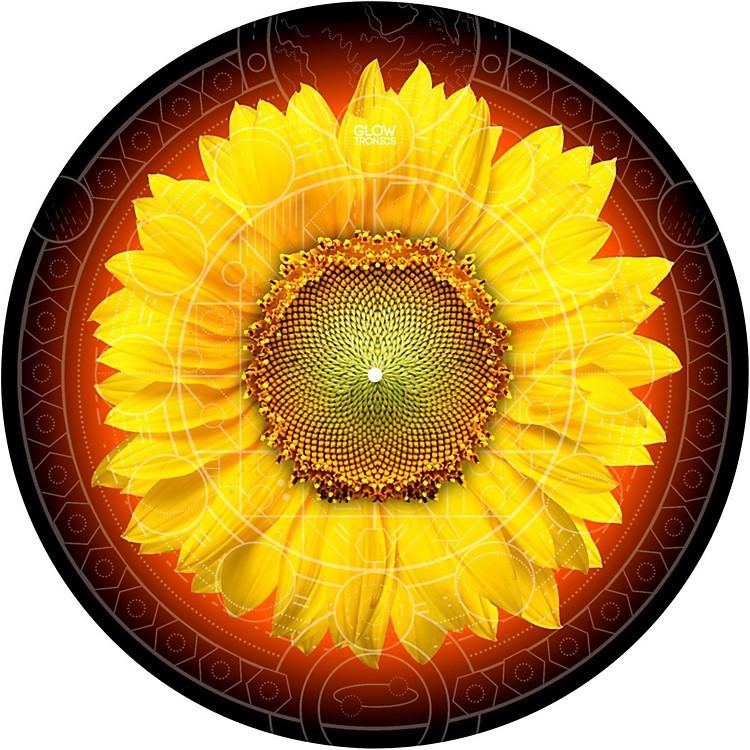 Glowtronics12 in. Sunflower Glow-in-the-Dark DJ Slipmats