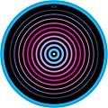 Glowtronics 12 in. UV-activated Circles Glow DJ Slipmat