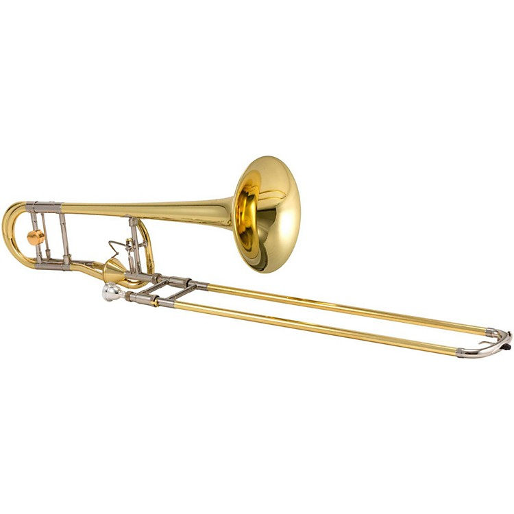 XO 1236 Professional Series F-Attachment Trombone with Thru-Flo Valve 1236L-T Yellow Brass Bell