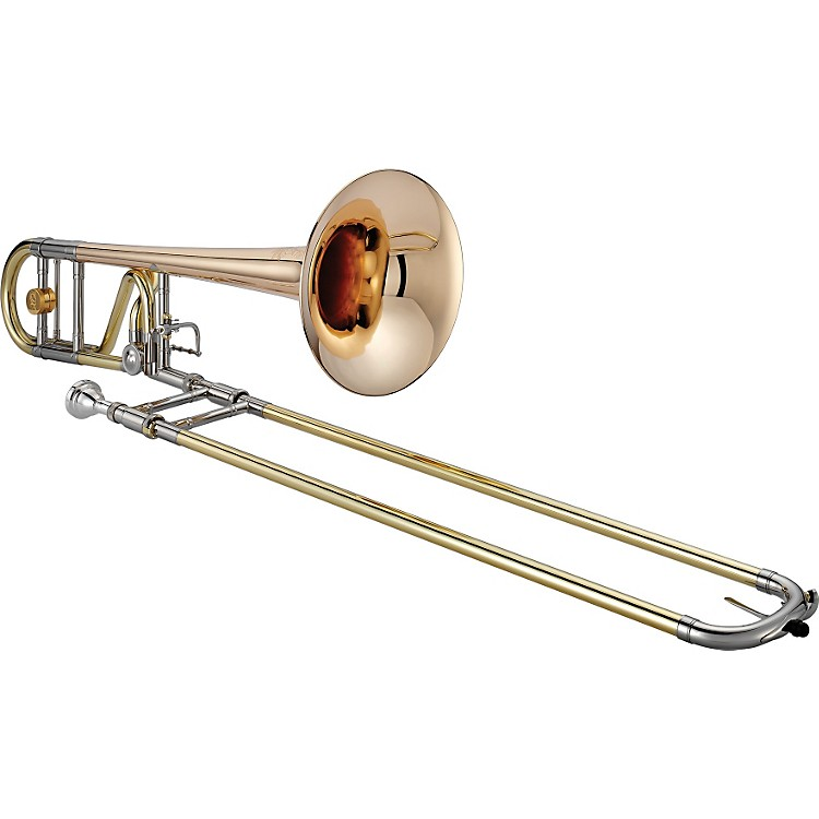 XO 1236L Professional Series F-Attachment Trombone 1236RL-O Lacquer - Standard Valve and Rose Brass Bell