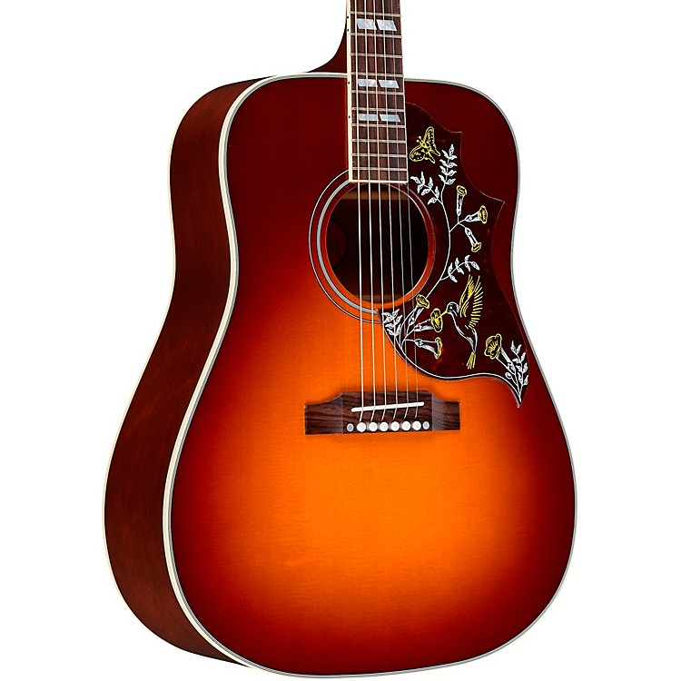 Gibson 125th Anniversary Hummingbird Acoustic Guitar Autumn Burst