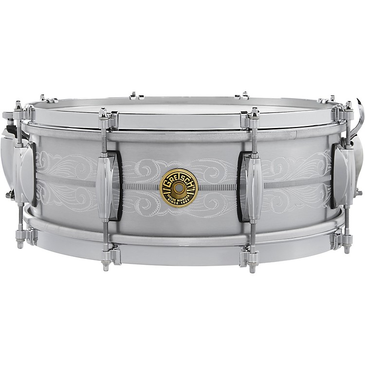 Gretsch Drums 135th Anniversary Solid Aluminum Snare Drum 14 x 5 in. Aluminum