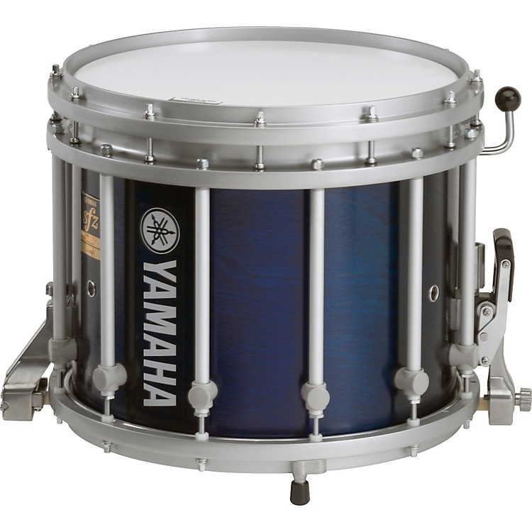 Yamaha 13x11 SFZ Marching Snare Drum Blue Forest Stain 13X11