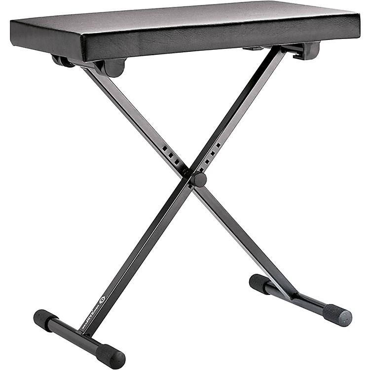 K&M14065.000.55 Keyboard Bench Leather