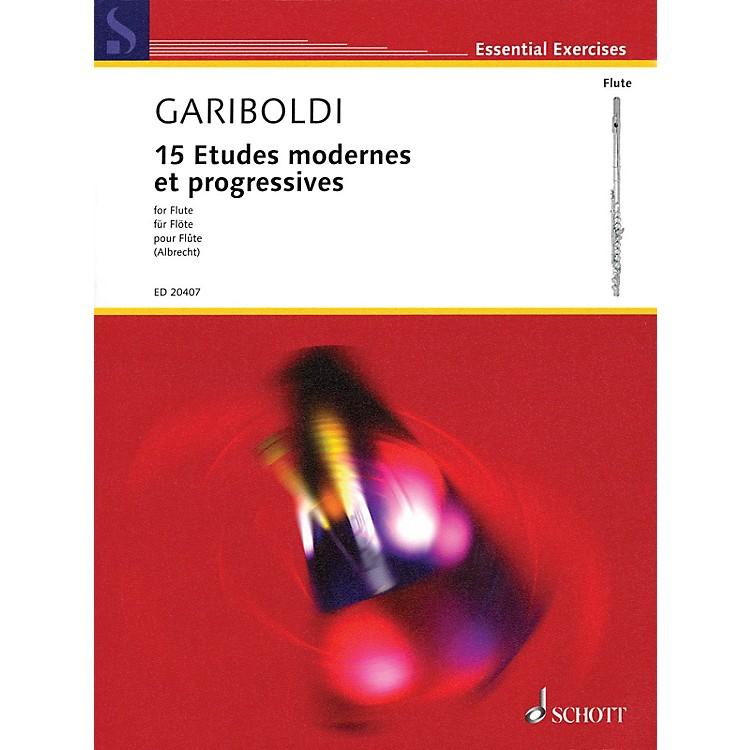 Schott15 Etudes modernes et progressives Woodwind Series Softcover