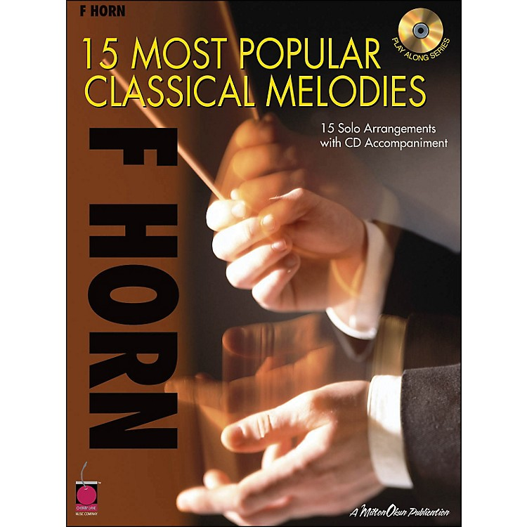 Cherry Lane15 Most Popular Classical Melodies for French Horn Book/CD