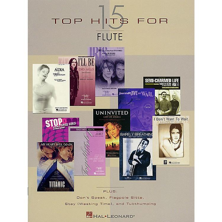 Hal Leonard15 Top Hits Instrumental Folio Series