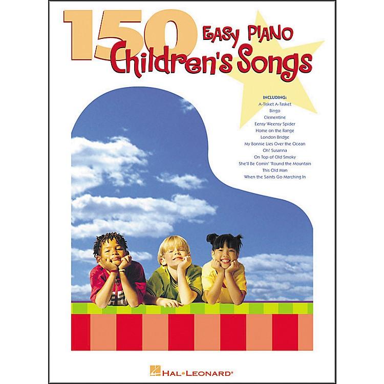 Hal Leonard150 Easy Piano Children's Songs