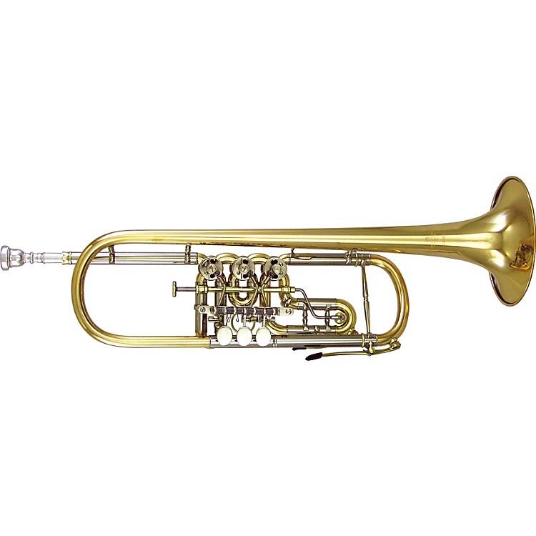 Kanstul1505 Series Bb Rotary Trumpet1505-2 Silver