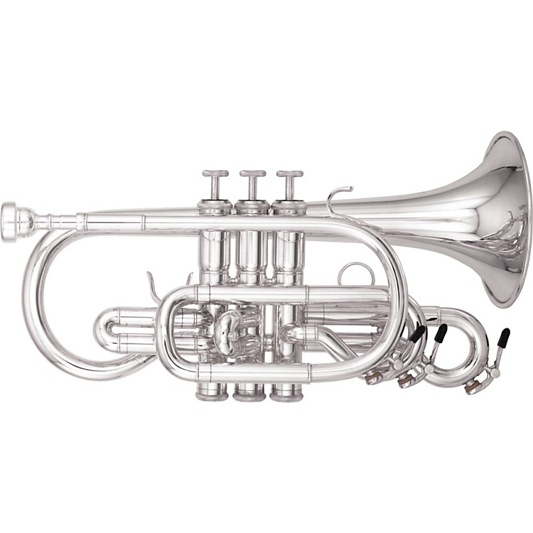 Kanstul1530 Series Bb Cornet1530-2 Silver