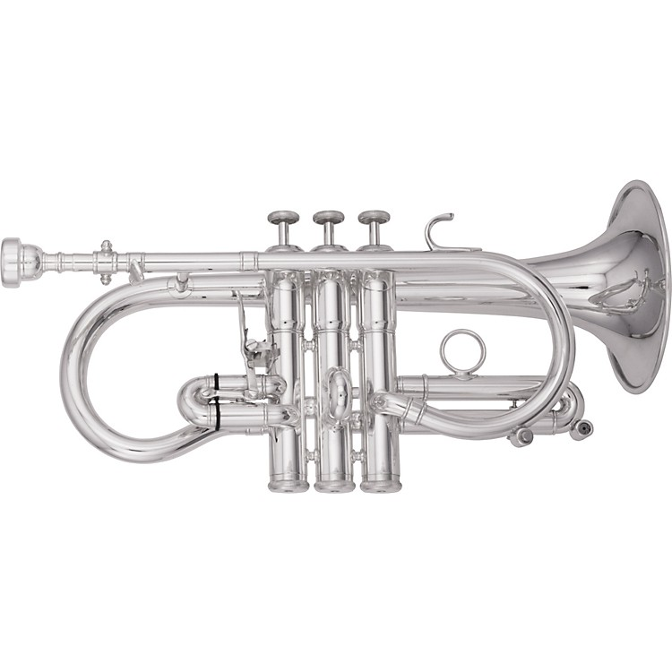 Kanstul1536 Series Eb Cornet1536-2 Silver