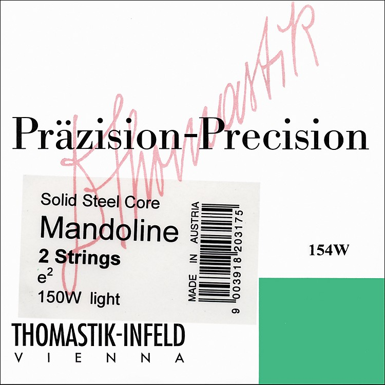 Thomastik 154W Tin-plated Steel Flatwound Mandolin Strings