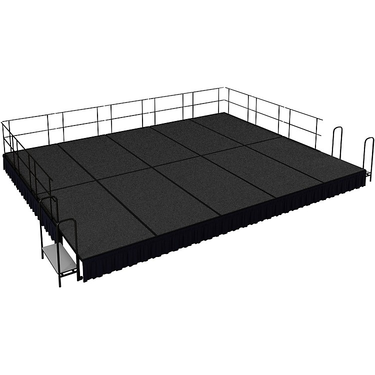 National Public Seating16' x 20' Stage Package, 16